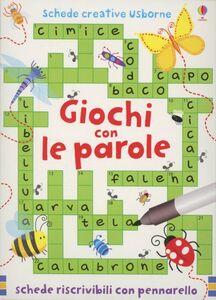 Libro Giochi con le parole Sarah Kahn , Simon Tudhope