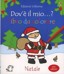 Libro Natale. Con adesivi Fiona Watt