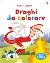Draghi da colorare. Con adesivi