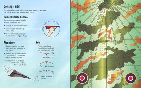 Libro 100 aerei di carta da piegare e lanciare Hannah Ahmed , Brian Voakes 2