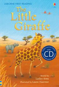 The little giraffe - Lesley Sims - copertina