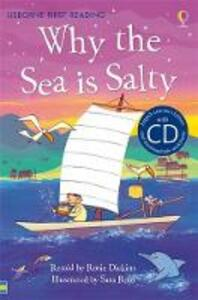 Why the sea is salty - Rosie Dickins - copertina
