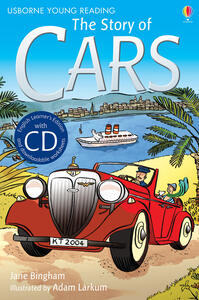 The story of cars - Katie Daynes - copertina