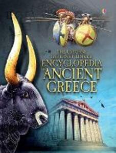 The Usborne encyclopedia of Ancient Greece - Jane Chisholm - copertina