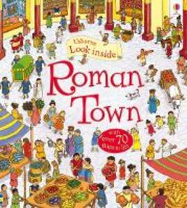 Look Inside Roman Town. Ediz. illustrata - Conrad Mason - copertina