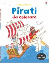 Pirati da colorare. Con adesivi