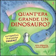 Warholgenova.it Quant'era grande un dinosauro? Image