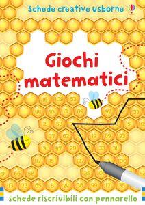 Libro Giochi matematici. Con gadget Sarah Khan , Marc Maynard