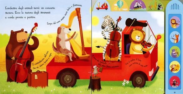 L' orchestrina. Ediz. illustrata - Sam Taplin,Gareth Lucas,Katherine Lucas - 2