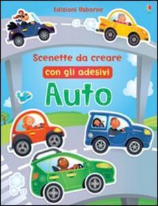 Auto. Scenette da creare con gli adesivi