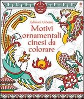 Motivi ornamentali cinesi da colorare
