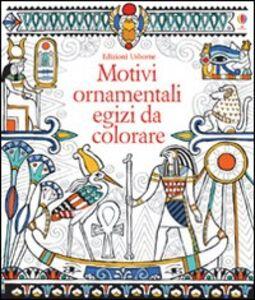 Foto Cover di Motivi ornamentali egizi da colorare, Libro di Struan Reid,Lawrie Taylor, edito da Usborne Publishing