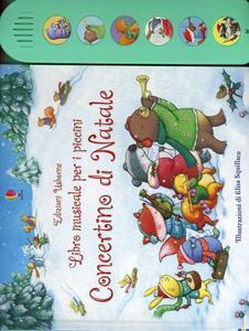 Concertino di Natale. Ediz. illustrata - Fiona Watt,Elisa Squillace - copertina