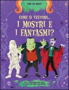 Parcoarenas.it Come si vestono... i mostri e i fantasmi? Con adesivi Image
