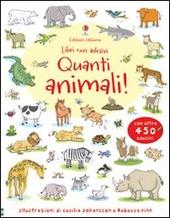 Quanti animali! Con adesivi