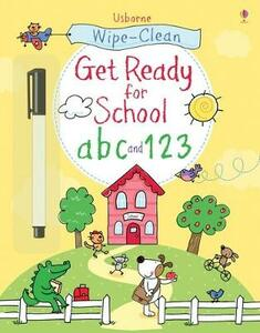 Get ready for school abc and 123 - Sam Taplin - copertina