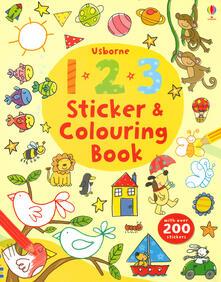 123 sticker and colouring book. Ediz. a colori.pdf