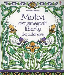 Camfeed.it Motivi ornamentali. Liberty da colorare Image