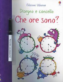 Lpgcsostenible.es Che ore sono? Disegno e cancello. Ediz. illustrata. Con gadget Image