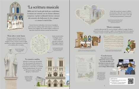 Libro La musica classica. Libri con adesivi per informare Anthony Marks , Galia Bernstein 1