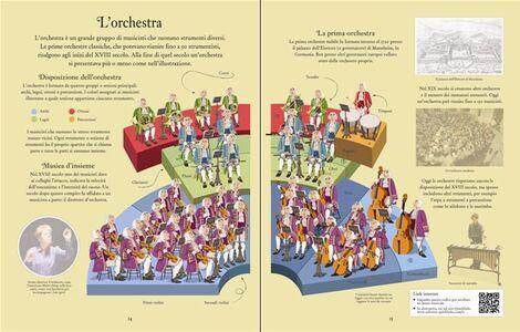 Libro La musica classica. Libri con adesivi per informare Anthony Marks , Galia Bernstein 2