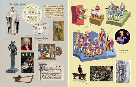 Libro La musica classica. Libri con adesivi per informare Anthony Marks , Galia Bernstein 3