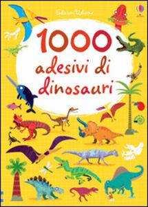 Libro 1000 adesivi di dinosauri Lucy Bowman , Stella Baggott