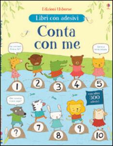 Foto Cover di Conta con me. Con adesivi, Libro di Jessica Greenwell,Marina Aizen, edito da Usborne Publishing