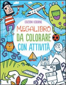 Libro Megalibro da colorare con attività  0