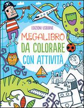 Megalibro da colorare con attività