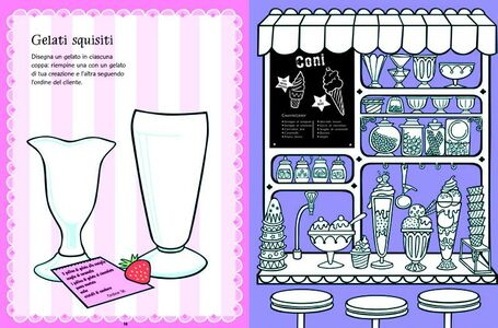 Foto Cover di Megalibro da colorare con attività, Libro di  edito da Usborne Publishing 1