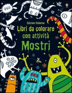 Foto Cover di Mostri, Libro di Kirsteen Robson, edito da Usborne Publishing 0