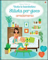 Image of Arredamento. Vesto le bamboline. Con adesivi
