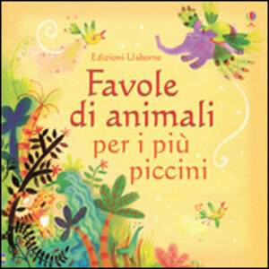Favole di animali per i più piccini - copertina
