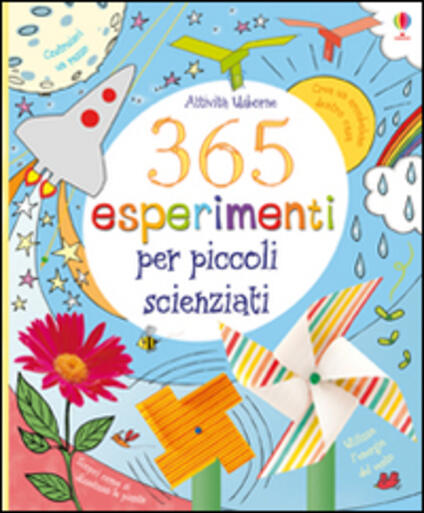 365 esperimenti per piccoli scienziati - copertina