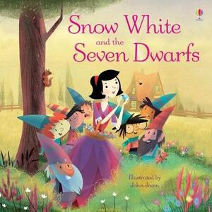 Snow White and the seven dwarfs - Lesley Sims - copertina