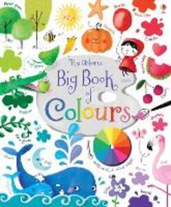 Big book of colours - Felicity Brooks - copertina