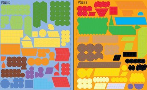 Libro Il mondo dei mosaici. Con adesivi Sam Taplin , Joanne Kirkby 1