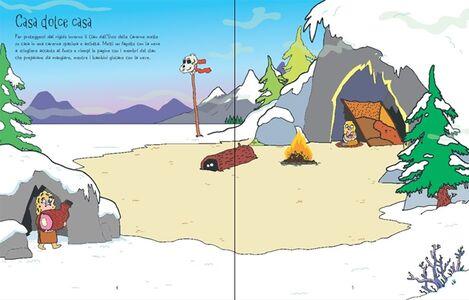 Libro L' era glaciale. Libri con adesivi Kirsteen Robson , Seb Burnett 1