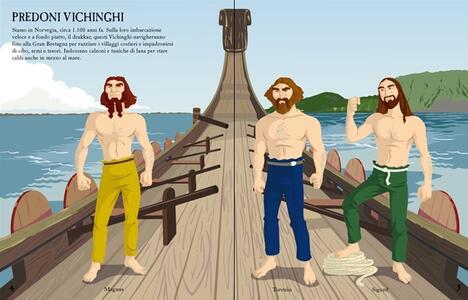 Come si vestono... marinai e naviganti. Con adesivi. Ediz. illustrata - Rachel Firth,Diego Diaz - 2