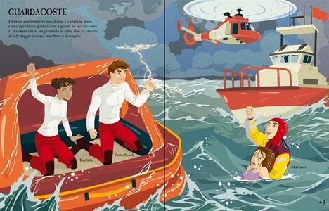 Come si vestono... marinai e naviganti. Con adesivi. Ediz. illustrata - Rachel Firth,Diego Diaz - 3