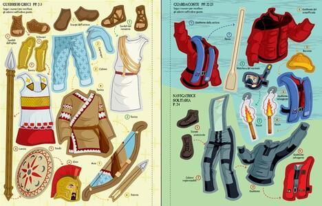 Come si vestono... marinai e naviganti. Con adesivi. Ediz. illustrata - Rachel Firth,Diego Diaz - 4