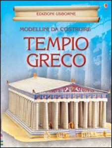 Foto Cover di Tempio greco. Modellini da costruire, Libro di Iain Ashman, edito da Usborne Publishing