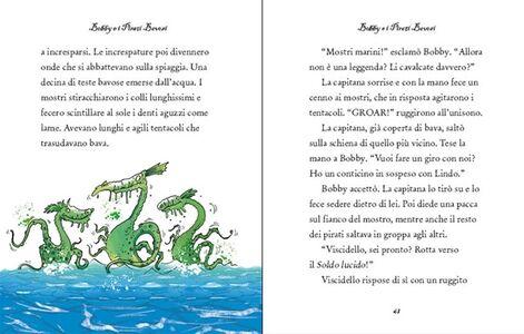 Libro Racconti di pirati. Racconti illustrati Leo Broadly 2