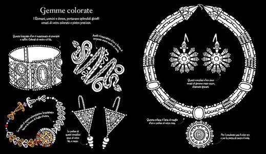 Libro Motivi ornamentali romani. Da colorare Sam Baer , David Thelwell 3