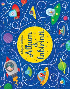 Foto Cover di Album di labirinti. Disegno passo dopo passo, Libro di AA.VV edito da Usborne Publishing 0