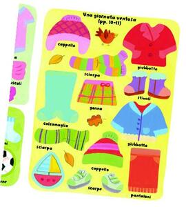 I vestiti. Coloro e incollo - Felicity Brooks,Kay Widdowson - 3