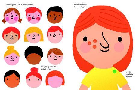Foto Cover di Disegno con le dita, Libro di Fiona Watt,Erica Harrison, edito da Usborne Publishing 1