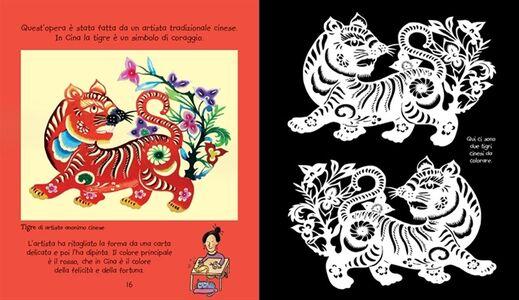 Libro L' arte da colorare per i bambini. Con adesivi Rosie Dickins , Carles Ballesteros 2
