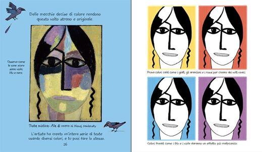 Libro L' arte da colorare per i bambini. Con adesivi Rosie Dickins , Carles Ballesteros 3
